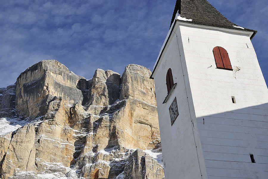 Holy Cross Val Badia Dolomites